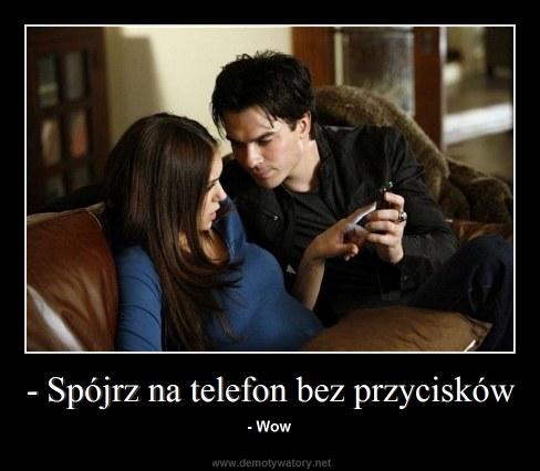 - Spójrz na telefon bez przycisków - - Wow