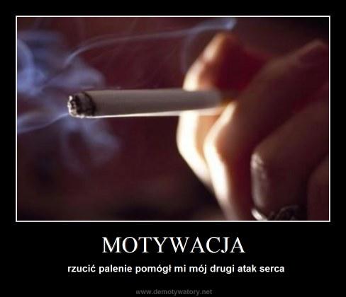 MOTYWACJA - rzucić palenie pomógł mi mój drugi atak serca