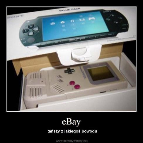 eBay - tańszy z jakiegoś powodu