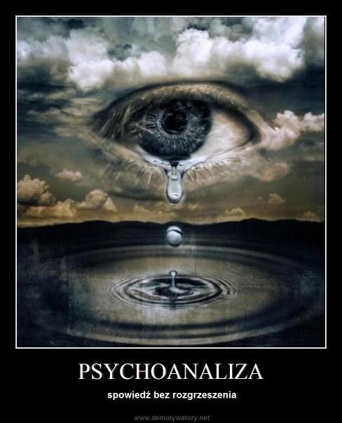 PSYCHOANALIZA - spowiedź bez rozgrzeszenia