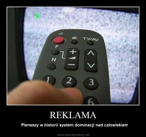 REKLAMA - Pierwszy w historii system dominacji nad człowiekiem