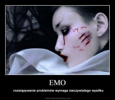 EMO - rozwiązywanie problemów wymaga rzeczywistego wysiłku