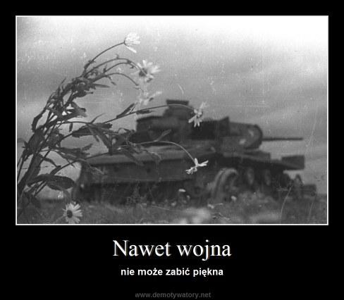 Nawet wojna - nie może zabić piękna