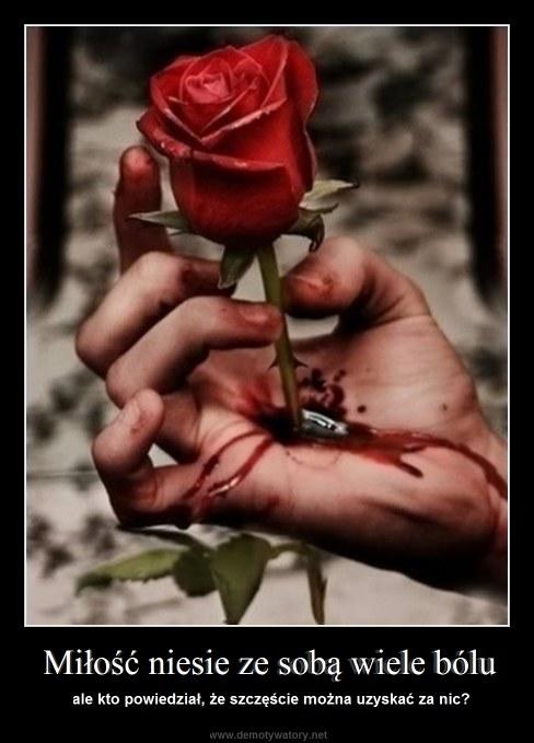 Miłość niesie ze sobą wiele bólu - ale kto powiedział, że szczęście można uzyskać za nic?
