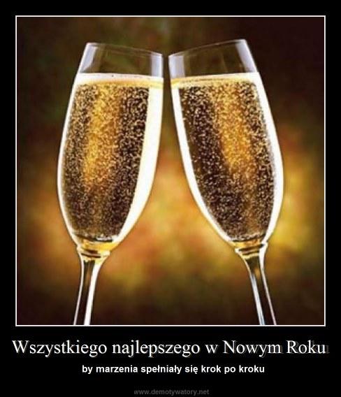 Wszystkiego najlepszego w Nowym Roku - by marzenia spełniały się krok po kroku